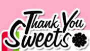 thank you sweets cupcakes advert